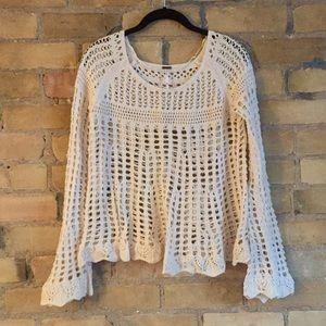 Free People Crochet top